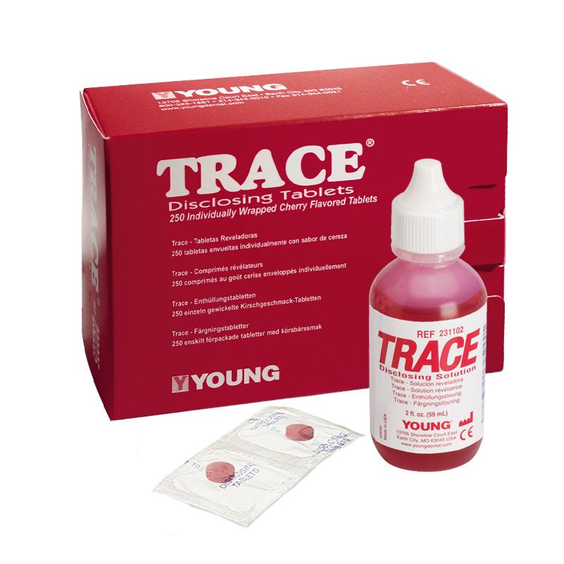Young Trace Anfärbelösung Anfärbetabletten
