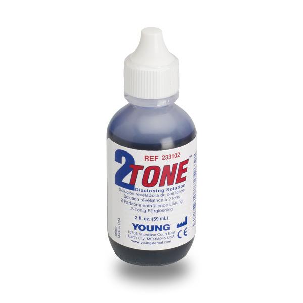 Solution de révélateur 2Tone pour détecter la plaque dentaire